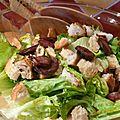 salade figatelli et croutons