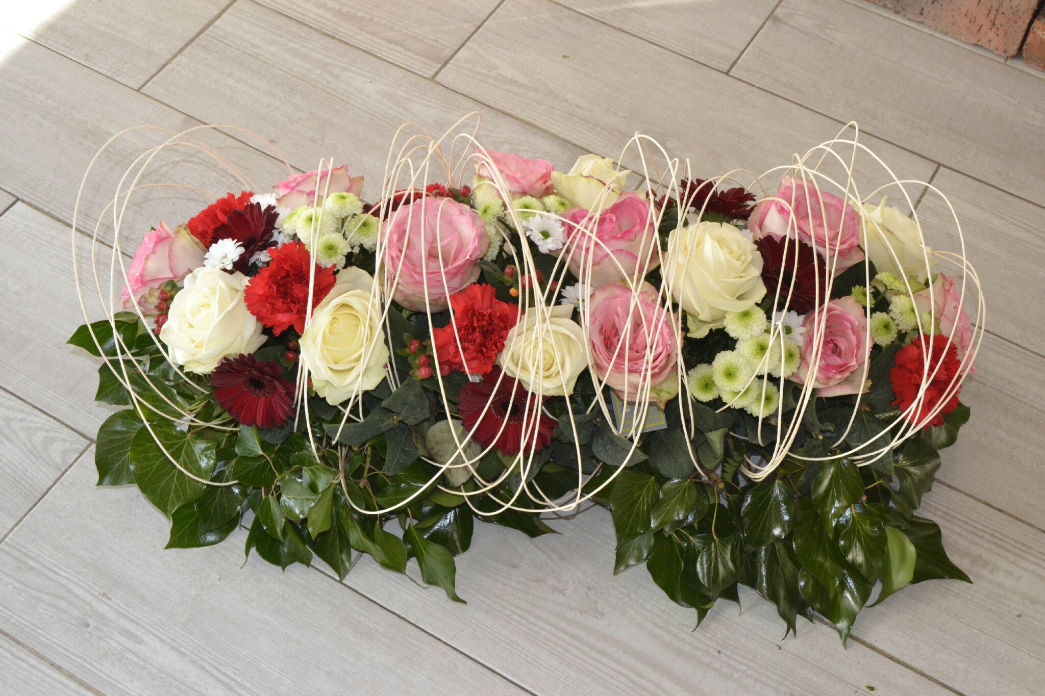 Extrêmement Deuil, décès, entrerrement : Au Fil des Fleurs livre vos fleurs  JJ31