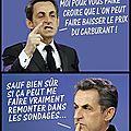 Sarkozy et les sondages