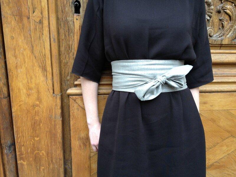 Kimono sleeve dress Salme (4)