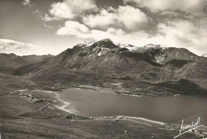 Lac avant barrage
