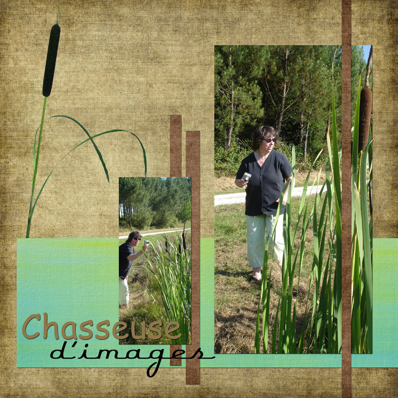 Chasseuse d'images