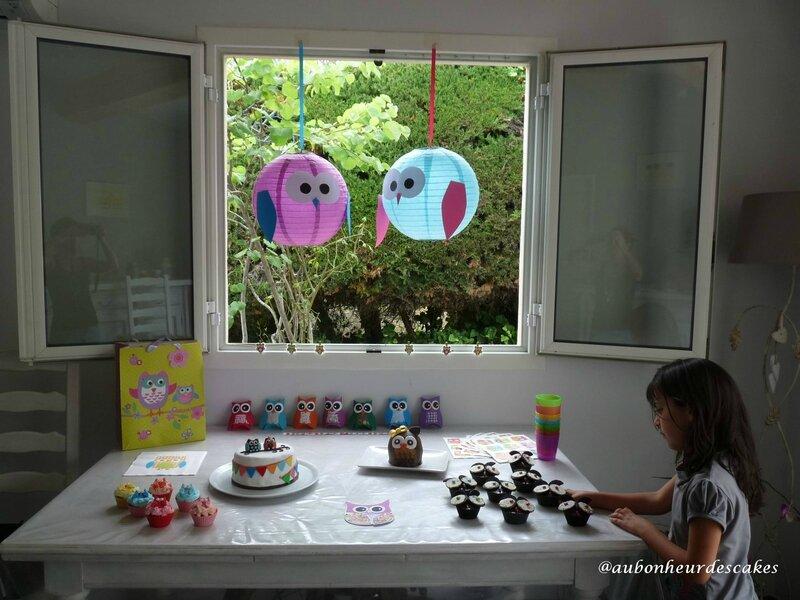 sweet table hibou (1)