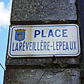 Chantonnay (85), place La Réveillère-Lepeaux