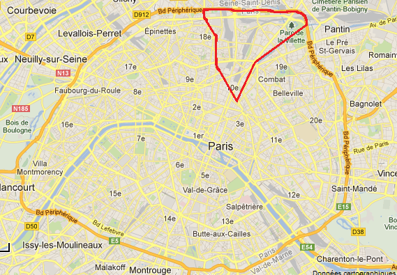 Le triangle paris nord est porte d 39 entr e sur l 39 europe paris en im - Boulevard peripherique de paris ...