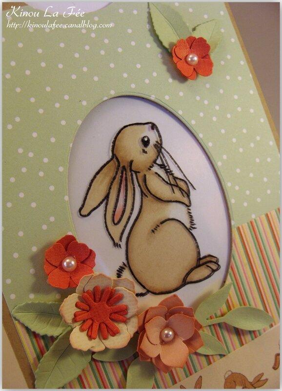 Carte Magique Pâques Lapin Belle et Boo 3