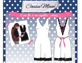 Made in Me Couture - Robe Jesus Cousu Main
