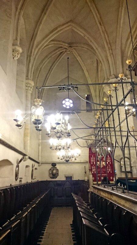 Prague synagogue Vieille-Nouvelle 10