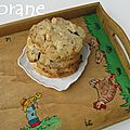 Cookies aux noix de cajou et chocolat