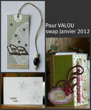Valou swap janvier 2012