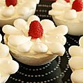 Framboise, meringue et chantilly