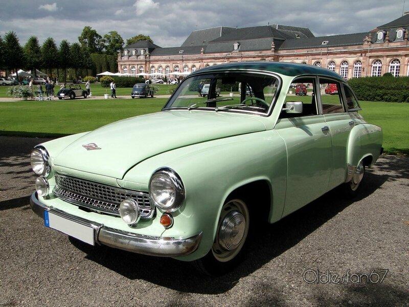 wartburg 311 1000 berline 1955 1966 a