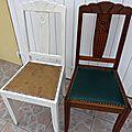 D'une chaise à l'autre..