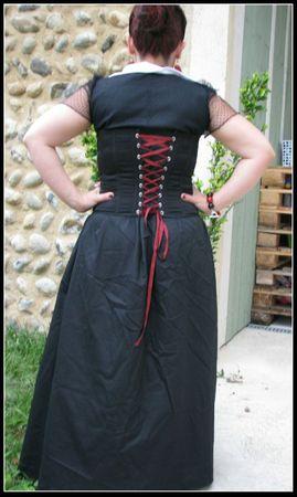 robe portée dos