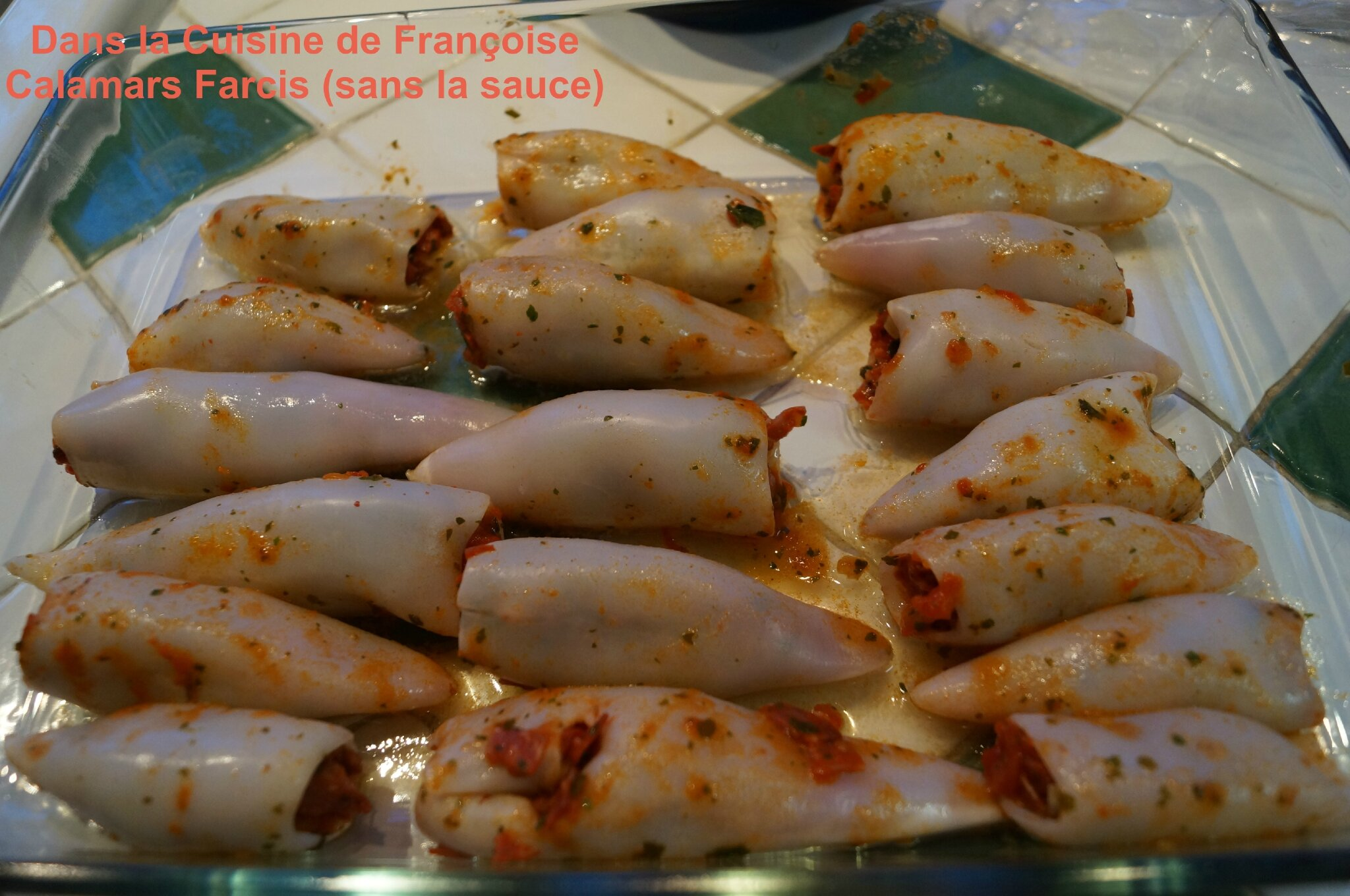 Calamars farcis recette d 39 un catalogue des magasins picard surgel s dans la cuisine de fran oise - Comment se procurer le catalogue de la redoute ...