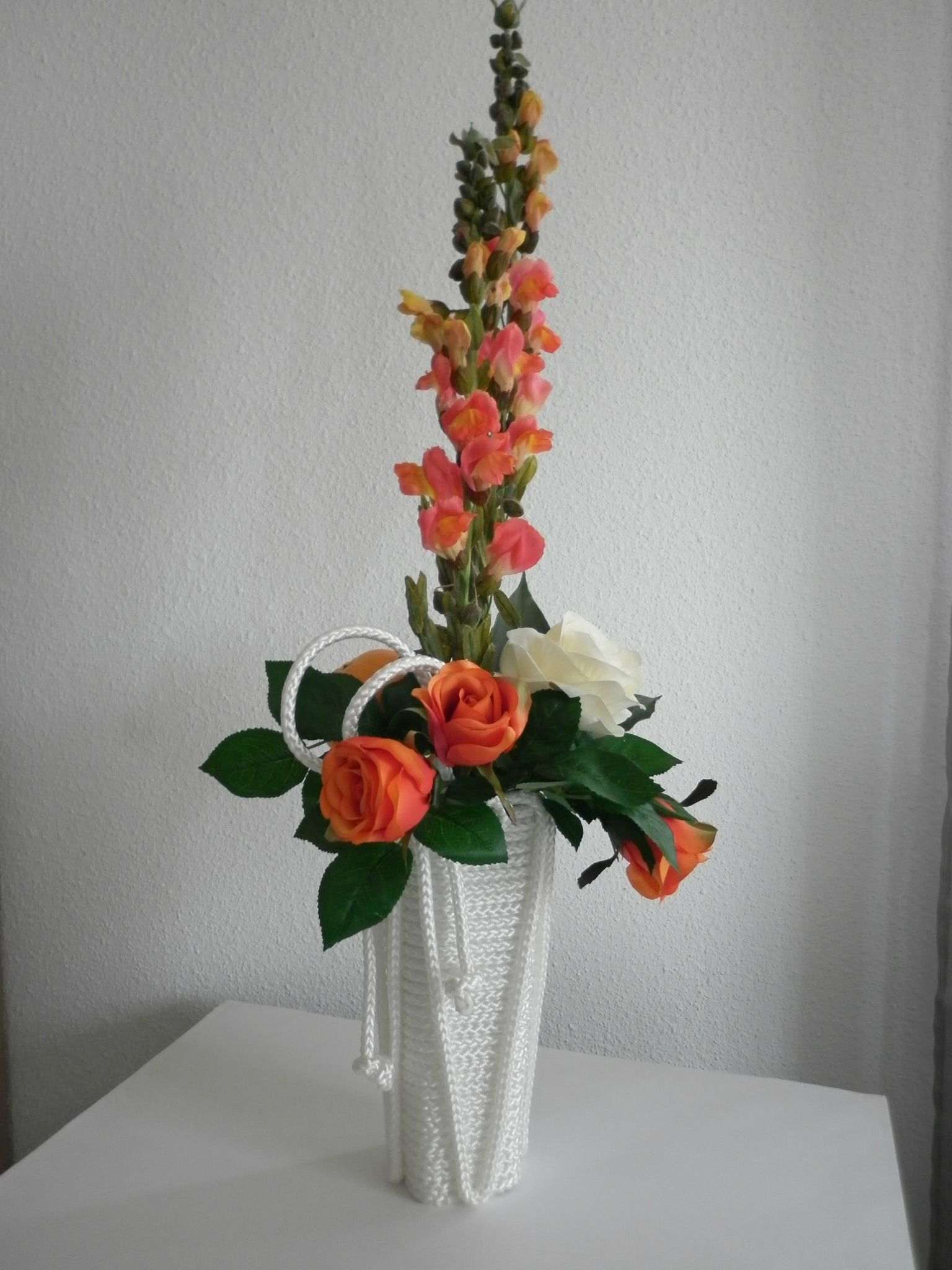 Modele de composition florale artificielle - Idee composition florale ...