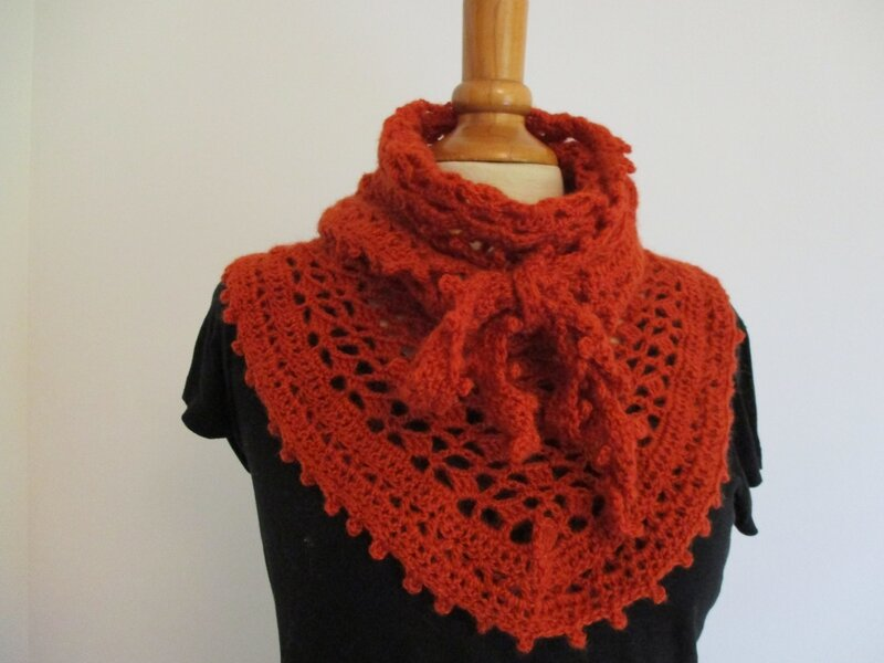 Cow-girl Crochet Orange (5)