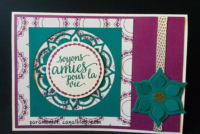 CARTE STAMPIN UP