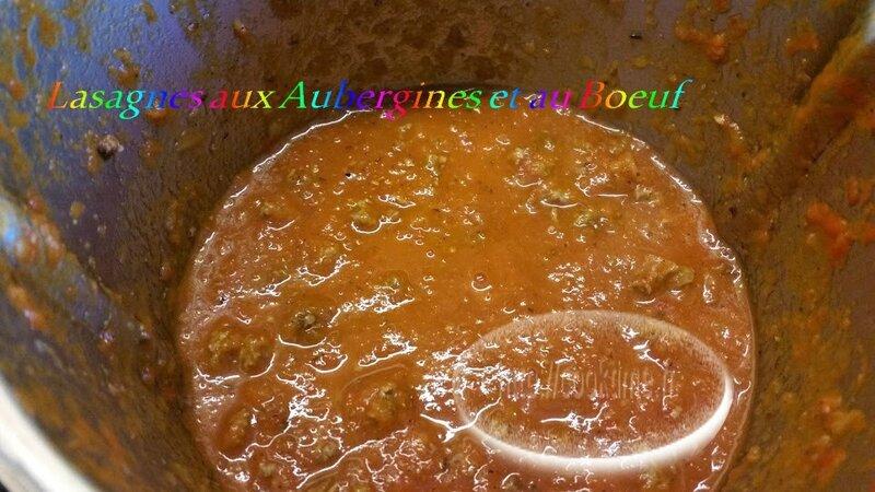 Lasagnes aux aubergines et au boeuf au thermomix 1