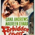 The forbidden street (usa) - britannia mews (uk). jean negulesco