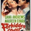 The forbidden street (usa) - britannia mews (uk). jean negulesco