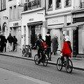 En vélo à deux