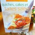 quiches, cakes et tartes salées