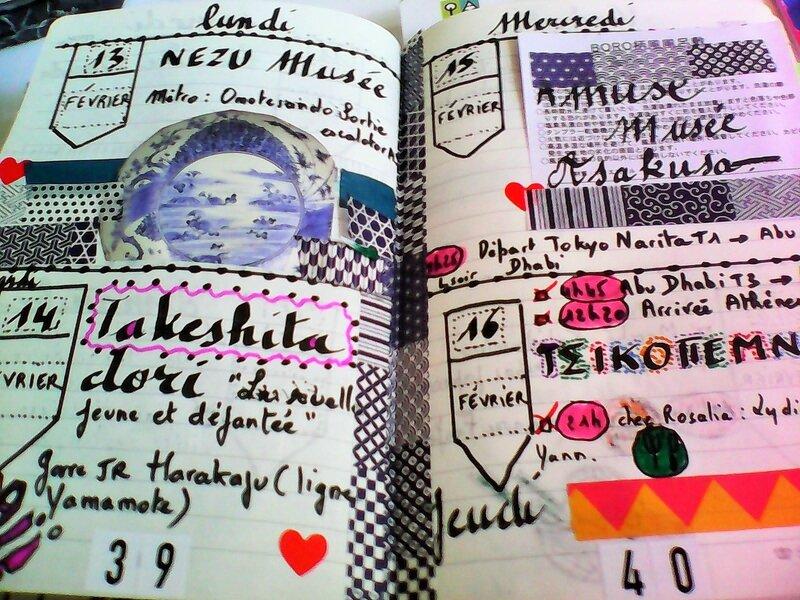 carnet voyage semaine 3 japon