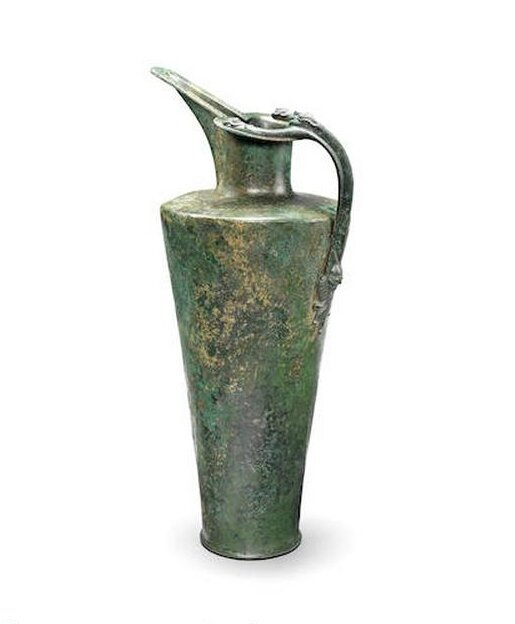 Rare 5th century BC Celtic bronze flagon for sale at Bonhams
