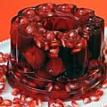 Jelly aux fruits rouges.