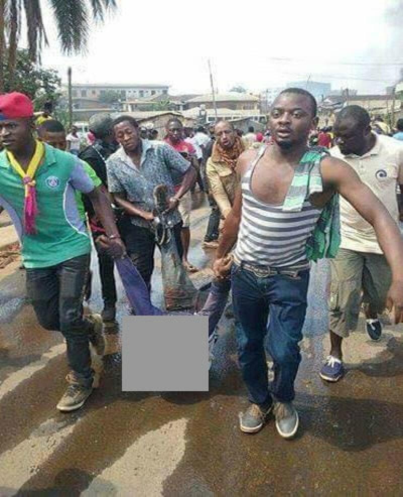 Les images des violences urbaines et affrontements sanglants entre frondeurs et forces de l'ordre de Paul Biya à Bamenda ce jeud
