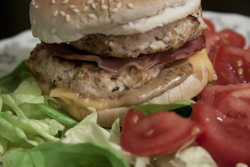 Hamburgers de poulet fondants
