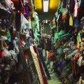 Grossistes en tissus de la rue Bihua