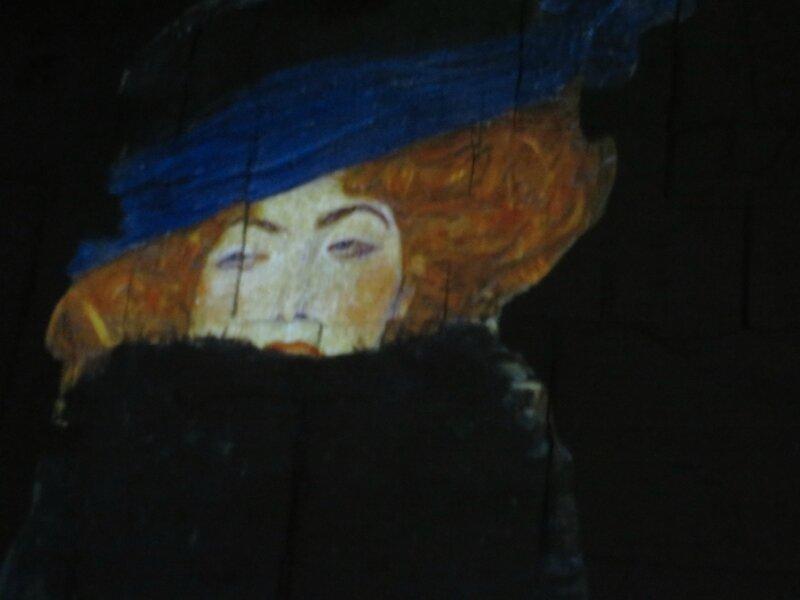La dame au boa de plumes - 1909 Klimt Exposition