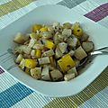 Wok de légumes anciens (rutabaga, topinambours et panais)