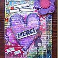 Mail-art cœur