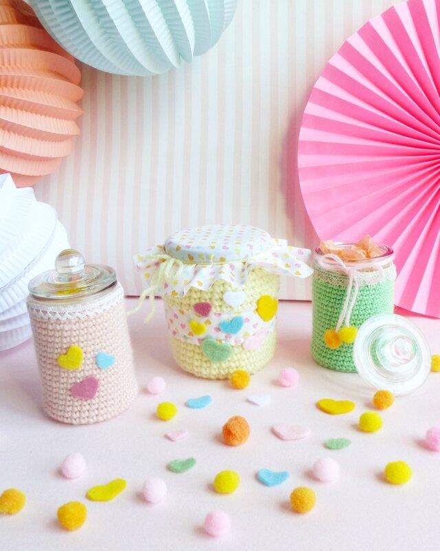 crochet-bonbonnière-bocal-emballage-cadeau-12