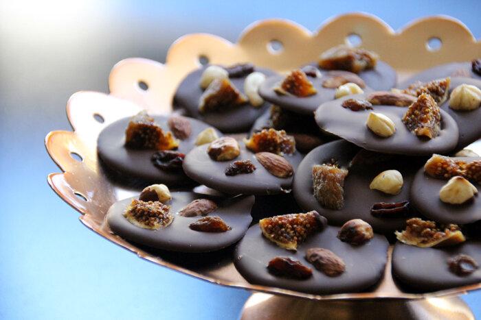 les 13 desserts de no 235 l en provence les mendiants au chocolat c est bient 244 t no 235 l