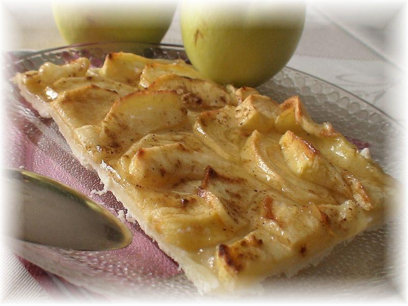 tarte aux pommes et 4 épices