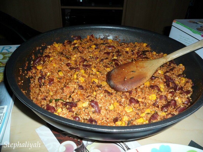 One pan quinoa -- 22 mars 2015