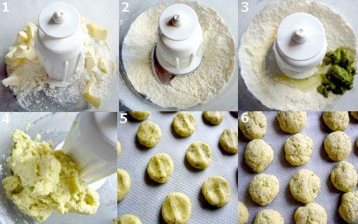 montage cookies pesto