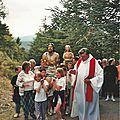 Les pèlerinages au fil des ans ......1998
