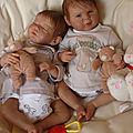 6 bébé jumeaux