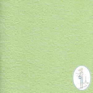 tissu-eponge-vert-tendre