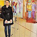 Clémence Caruana - Expo collective MARSSAC Février 2014