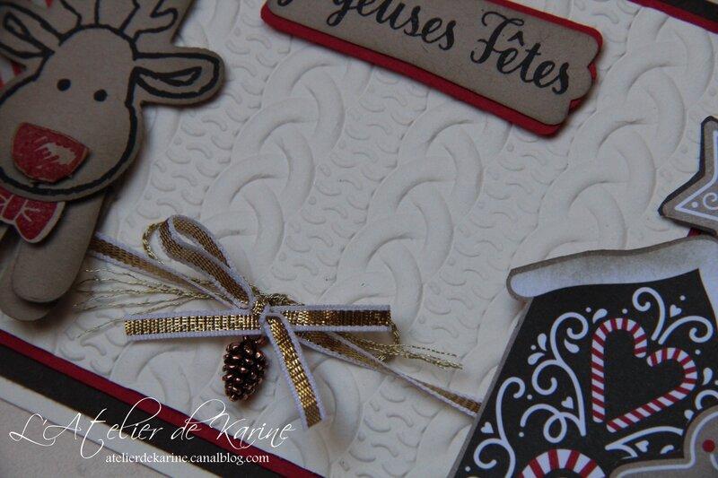 Carte Canne de Noël 6