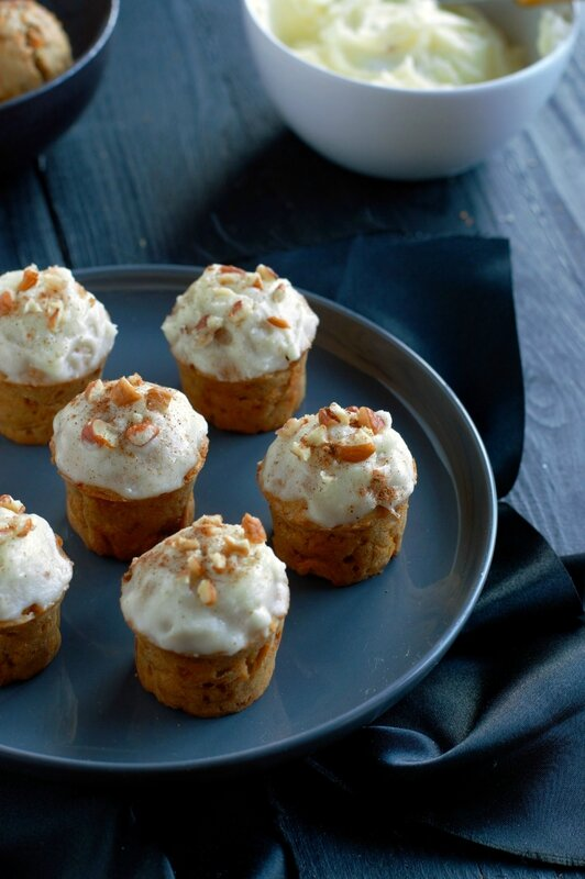 minis pumpkin cakes façon carrot cake blog