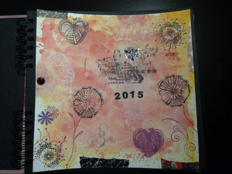 claire art journal