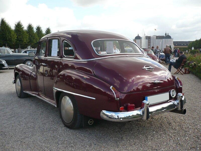 OPEL Kapitän '51 berline 4 portes 1952 Schwetzingen (2)