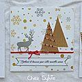 Noël en couleurs : une série de 3 cartes